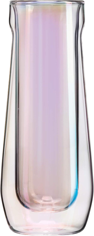 Corkcicle Glass Flute Set of 2 - Prism