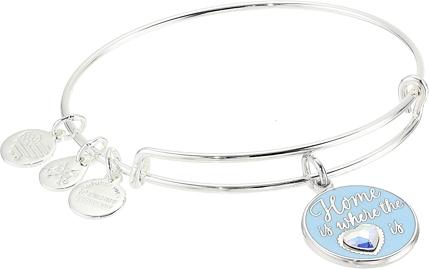 Alex and Ani Home is Where The Heart is Bangle Bracelet