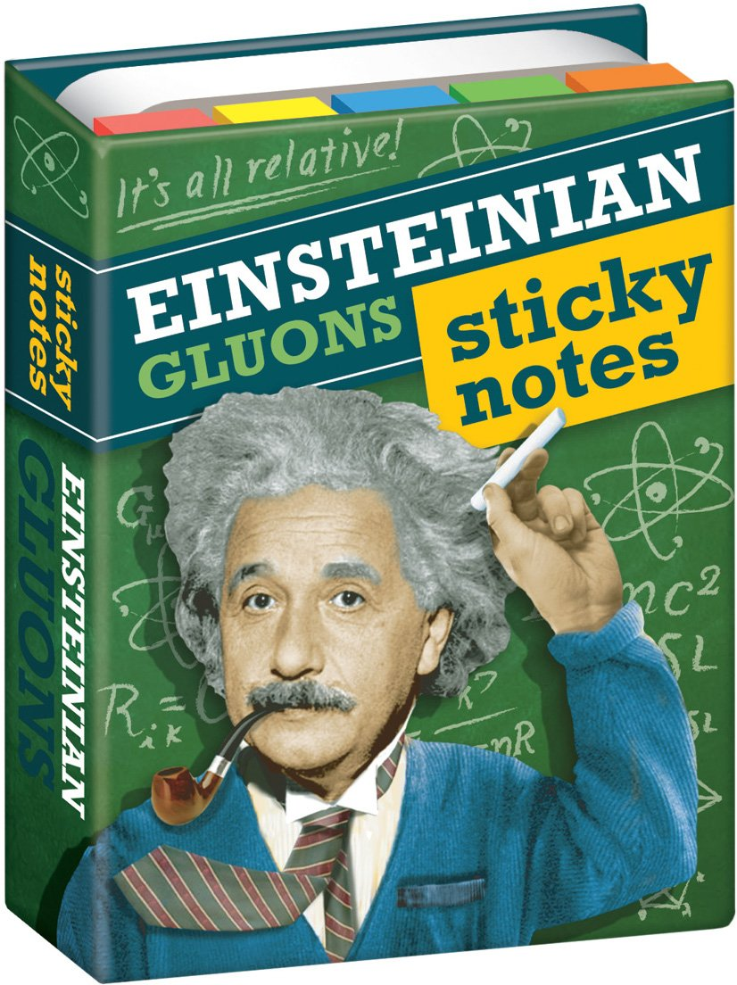Einsteinian Sticky Notes