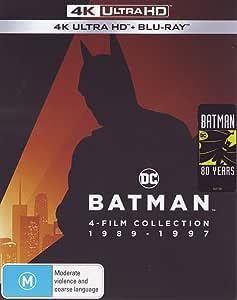 Batman 4 Film Collection (4K UHD + Blu-ray)