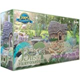 Deluxe Fairy Garden Kit with 11 Hand-Painted Pieces and Accessories