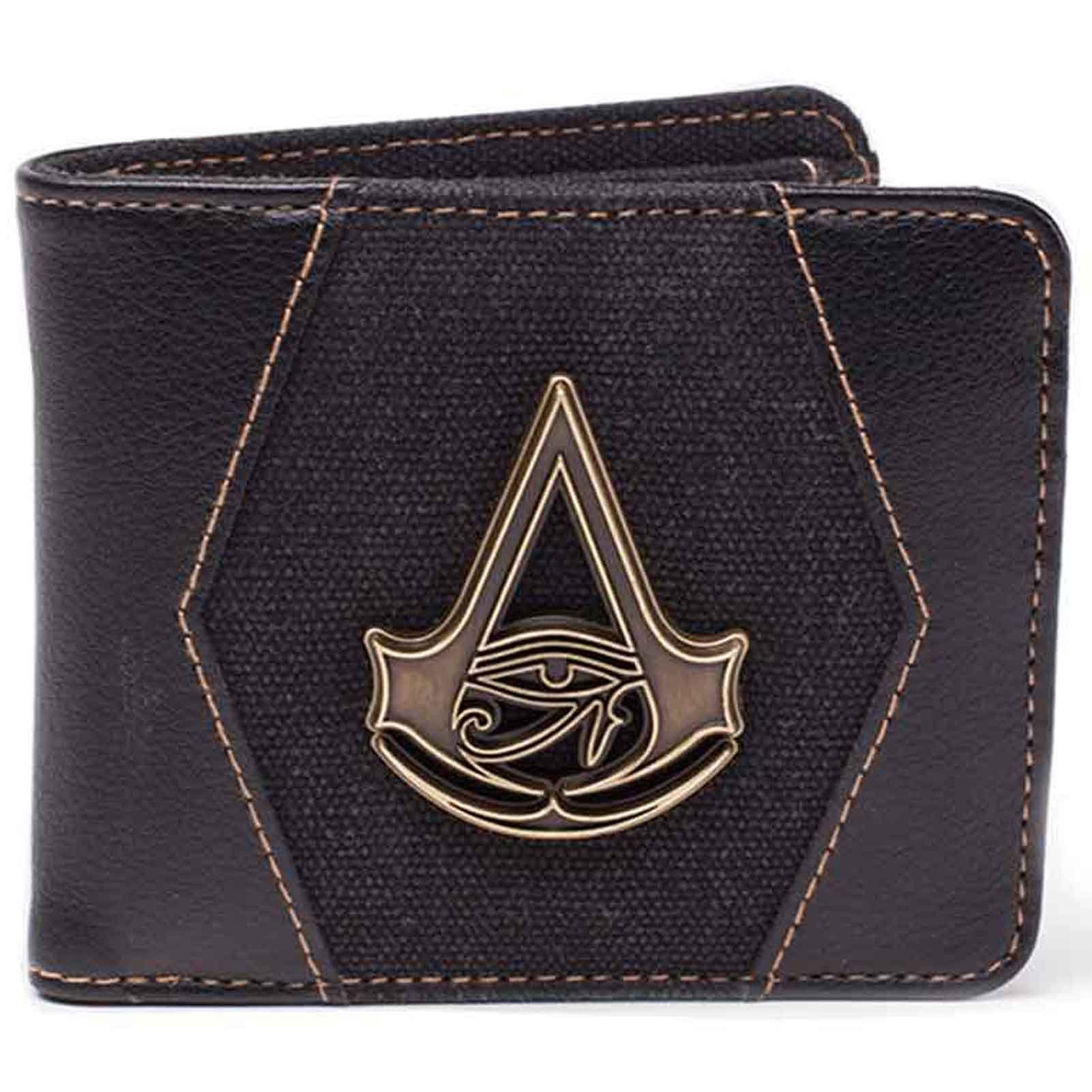Assassins Creed Wallet Origins Crest Official Ps4 Xbox Bifold Zip Around by Assassins Creed Merch