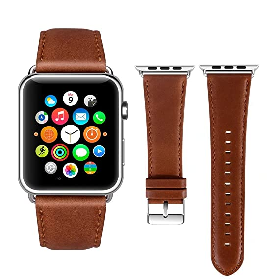 f02568f9290 Viodo wu188 Apple Watch Band Leather 42mm
