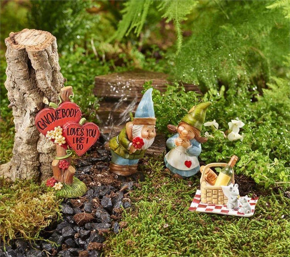 Fairy Garden Mini - Mini World Love You 4pc. Gift Boxed Set