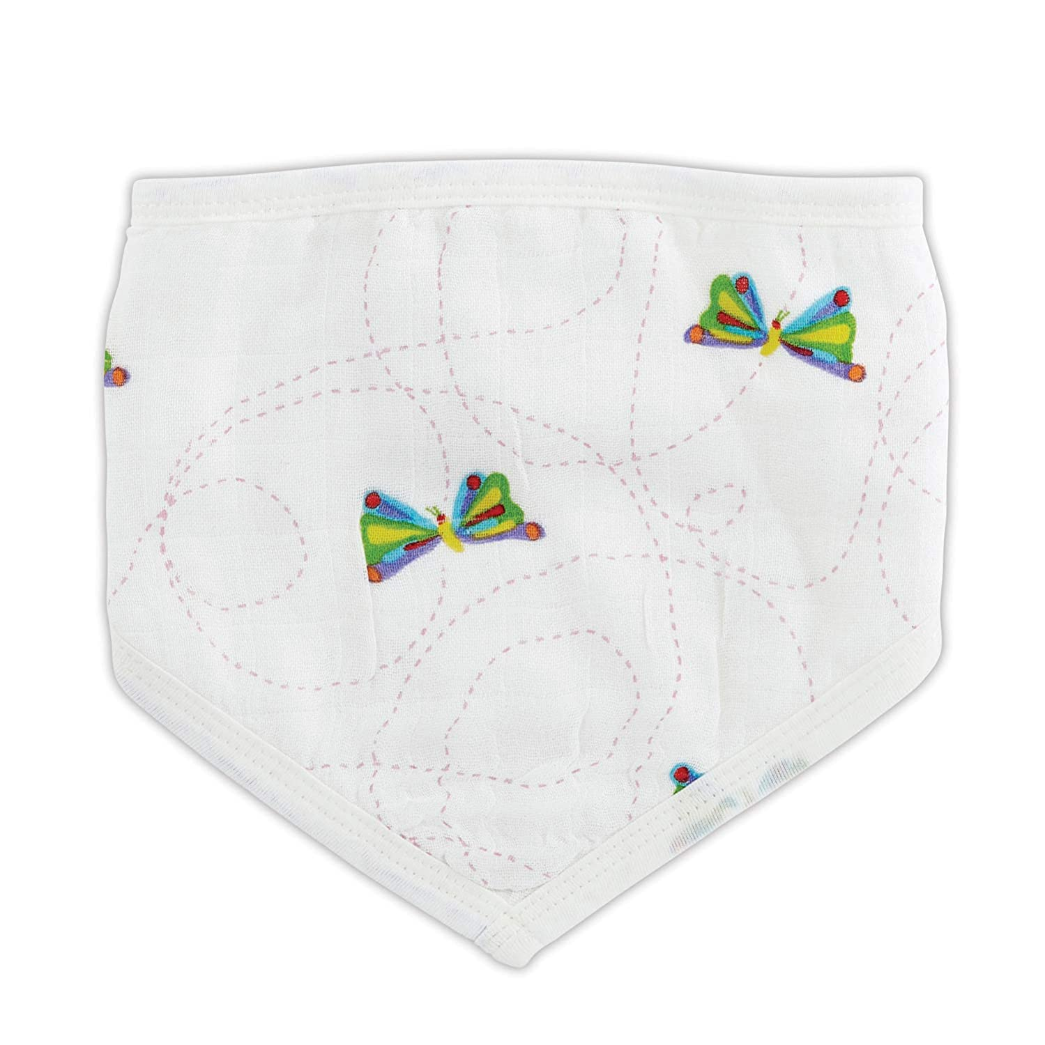 Stephan Baby Eric Carle Viscose Cotton Muslin Swaddle Blanket Available in 2 Designs Very Hungry Caterpillar Butterflies