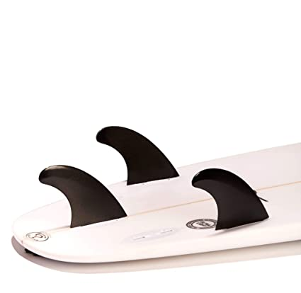 DORSAL | Surfboard Fins - Glass Filled Thruster Surf Fin Set (FCS G5 M5 Style): Amazon.es: Deportes y aire libre