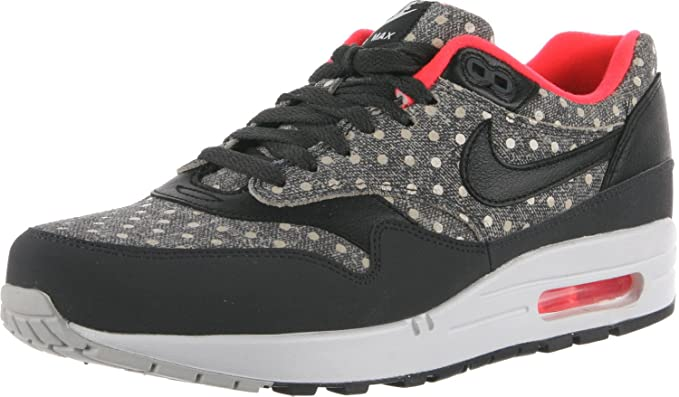 finest selection f6ed8 f544c Nike - Air Max 1 Leather Premium Polka Dot Pack - Color  Black-Grey-White -  Size  11.5  Amazon.co.uk  Clothing