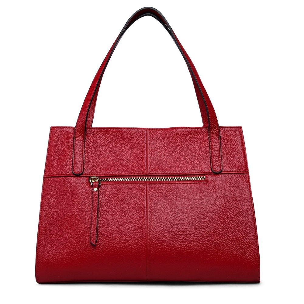 ZOOLER Genuine Leather Handbags for Women Shoulder Bags Top Handle Bag Tote Purse