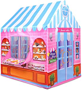 Anyshock Kids Play Tent, Candy Castle Playhouse for 1-6 ...
