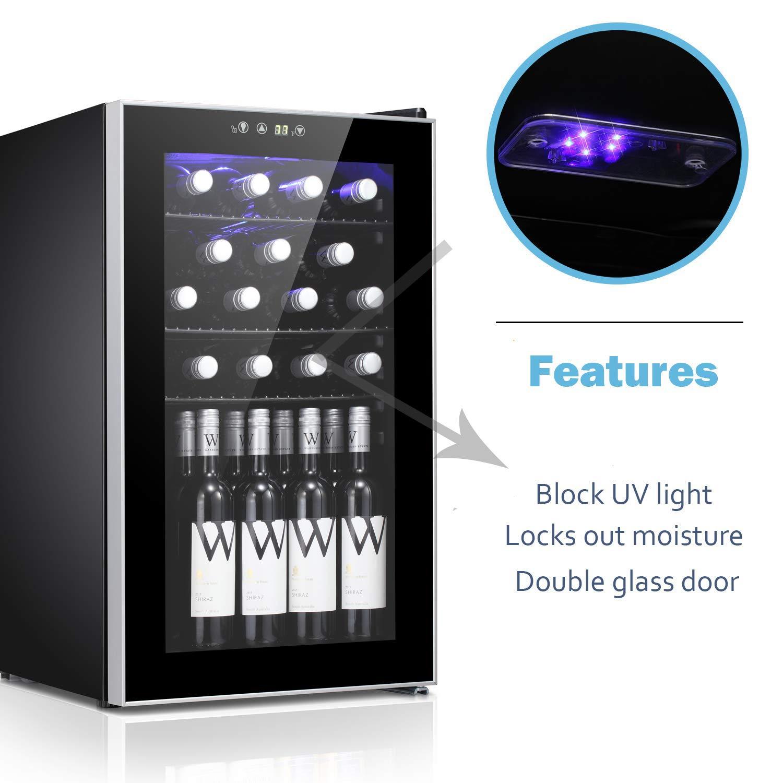Amazon.com: Bossin - Enfriador de botellas de vino con 26 ...