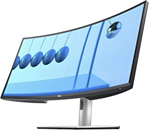 Dell U3421WE UltraSharp Curved USB-C Hub Monitor- 34.14-inch Ultrawide WQHD (3440x1440p at 60Hz) in-Plane Switching Technology, 100mmx100mm VESA Mounting Support, Platinum Silver (Latest Model)