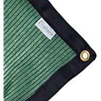 e.share 70% Green Shade Cloth Taped Edge with Grommets 20 ft X 10 ft