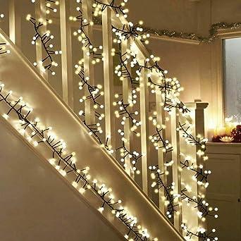 Lichterkette Kugeln,ToFu LED Lichterkette Warmweiß, String Licht, Innen   Und Außen Romantische