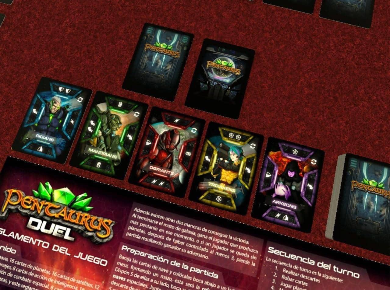 Amphora Games- Pentaurus: Duel (AMPPENTAU01) , Color/Modelo Surtido: Amazon.es: Juguetes y juegos