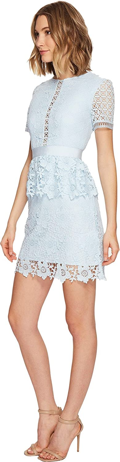 Amazoncom Ted Baker Womens Dixa Layered Lace Skater Dress