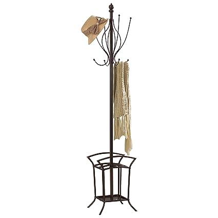 Pilastra diseños - Metal perchero con paragüero - 69