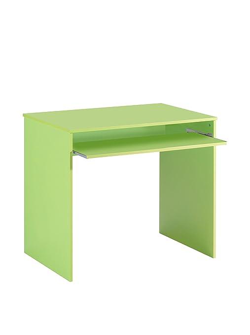 Scrivania Verde Mela.13casa Hugo D6 Scrivania Dim 90x54x79 H Cm Col Verde