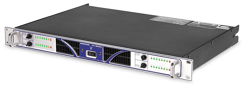 Pronomic Da-Lite 3600q Digital de 4 canales Amplificador de potencia (4 x 910 W RMS a 4 Ohmios, Class D, Soft de poder de Start, Paralelo/estéreo/Bridge de ...