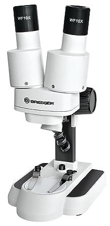 Bresser 3d Stereo Mikroskop Biolux Icd 20x Mit 20x Vergrößerung Für Kinder Und Erwachsene Zur Beobachtung Von Gesteinen Pflanzen Insekten Und Vielem Mehr Sehr Langlebige Auflicht Led Beleuchtung Gewerbe Industrie