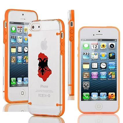 Amazon.com: Apple iPhone 6 6S transparente duro Carcasa de ...