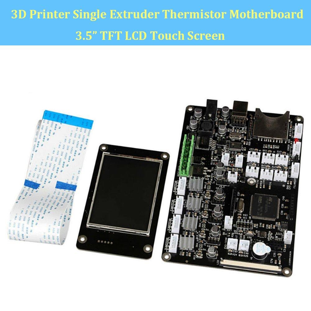 makergroup 3d impresora placa base v3.9 único extrusor termistor ...