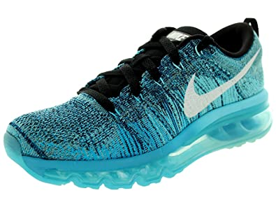 wholesale dealer bd034 55efb NIKE Flyknit Air Max Trainers – 620659-003 Blue Size 8 UK