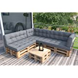 europalet sitzgruppe f r garten oder terrasse aus. Black Bedroom Furniture Sets. Home Design Ideas