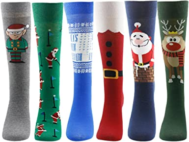 Adult Christmas Holiday Snowman Socks Party Accessory