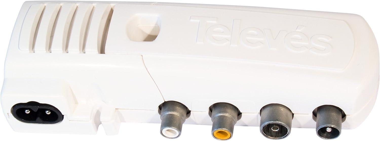 /Modulatore domestico C//Display VHF//UHF Televes/