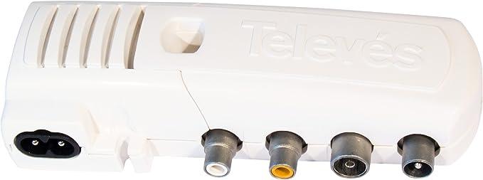 TELEVES 5857 MODUL UHF DOMESTICO, Blanco