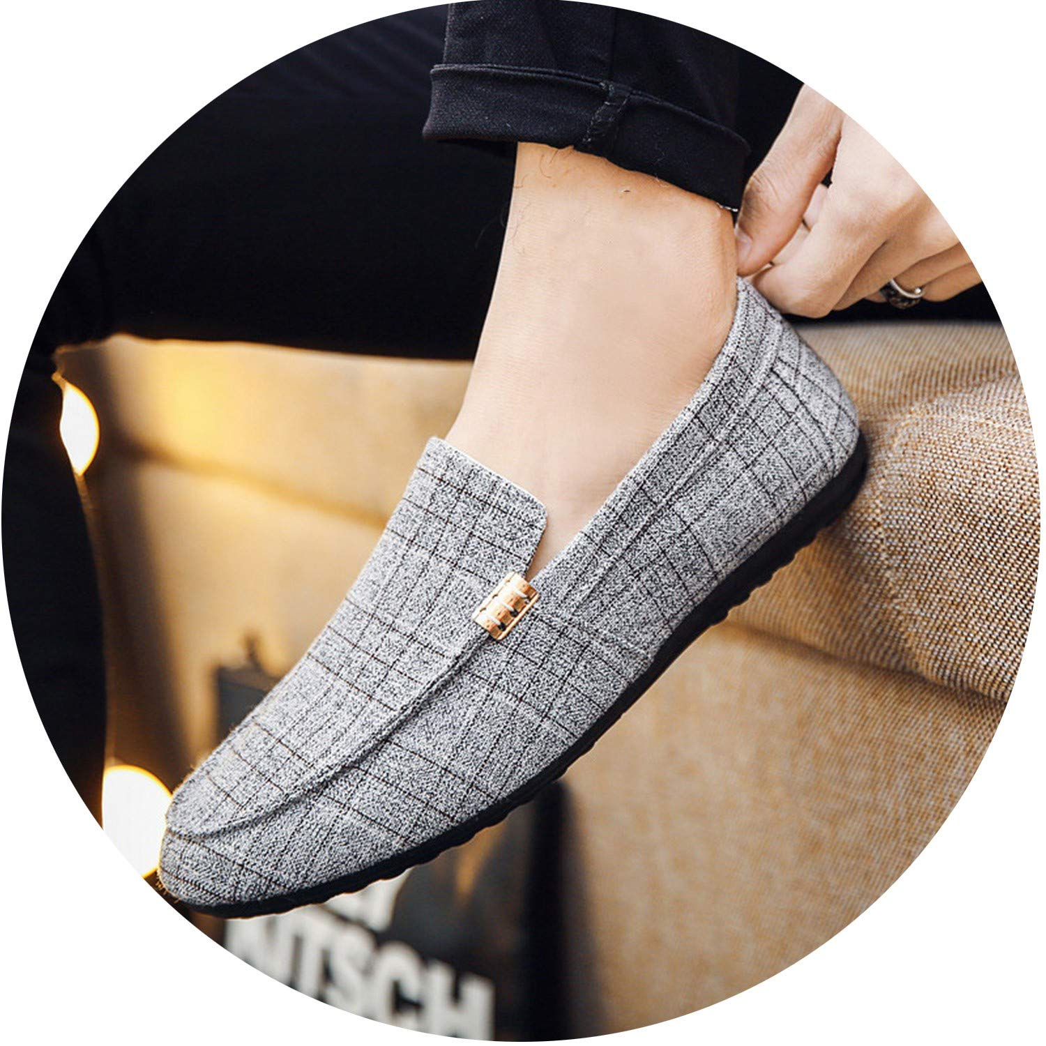Men Casual Shoes 2019 Spring Summer Men Loafers New Slip On Light Canvas Youth Men Shoes Breathable Fashion Flat