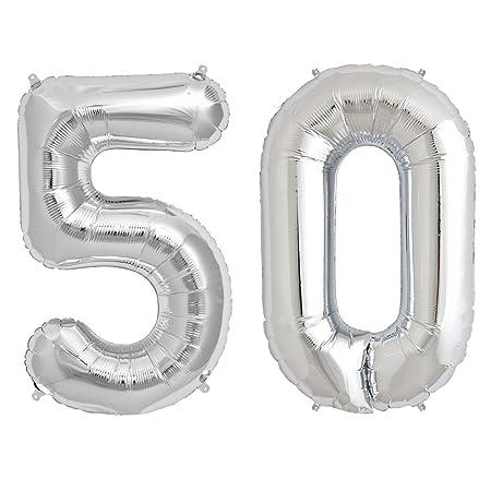 Simplydeko Globo Números Set | Número Globos para cumpleaños ...