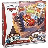 Cars - Bdf78 - Véhicule Miniature - Manettes Voitures D'Action De Disney - Tire Shop Luigi