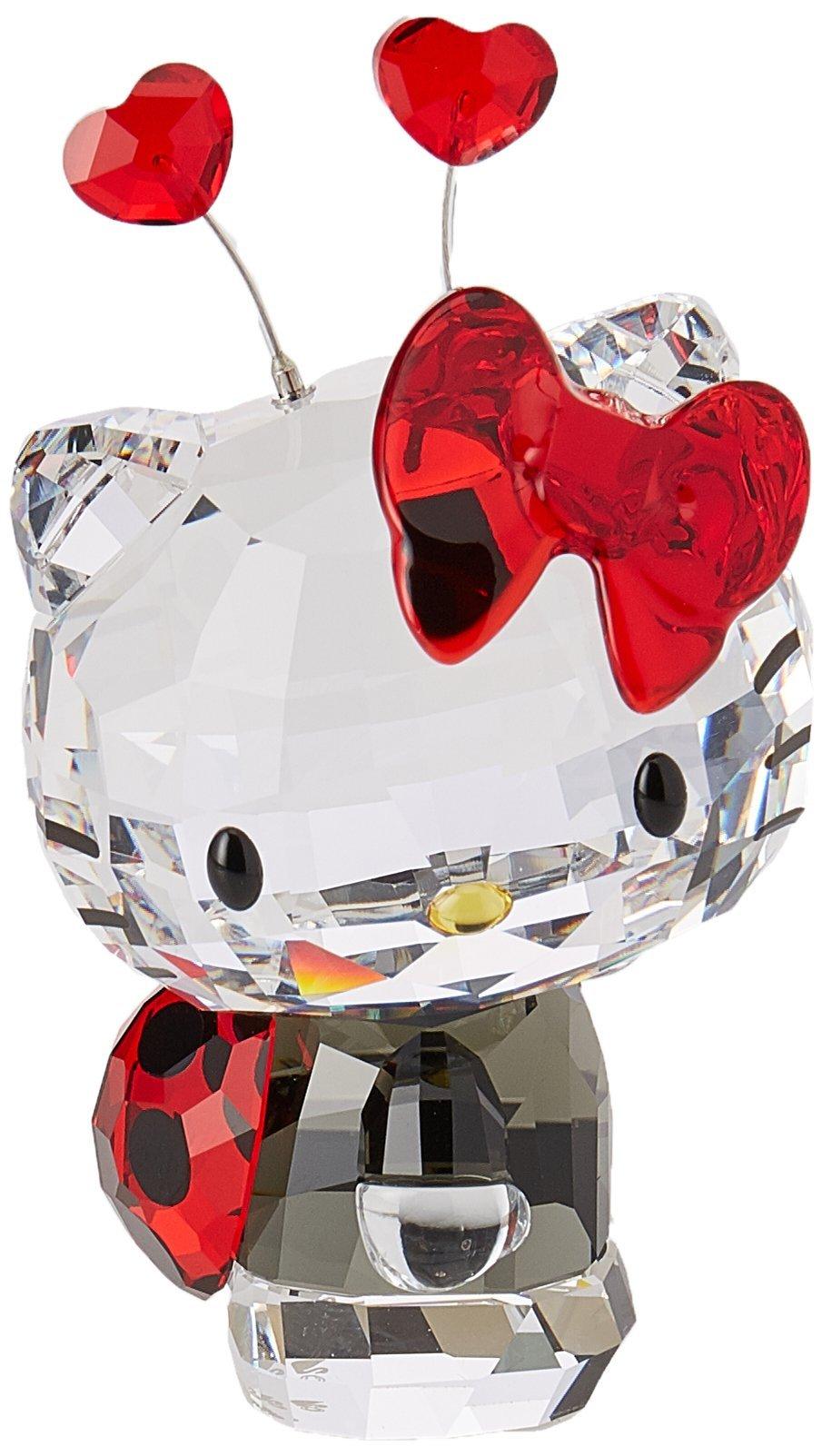 Swarovski Hello Kitty Ladybug Figurine by Swarovski