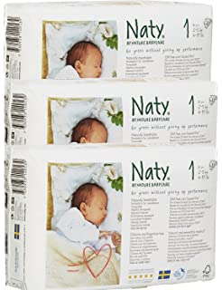 Naty By Nature Babycare Couches Taille 2 Lot De 3 Paquets 102