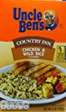 Uncle Ben's, Country Inn Rice Dishes, 5-Ounce Box (Pack of 6) (Choose Flavors Below) (Chicken & Wild Rice)