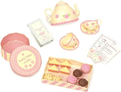 18 Inch Doll Tea Party  Dessert Food Set Two Complete Doll Sets for Your