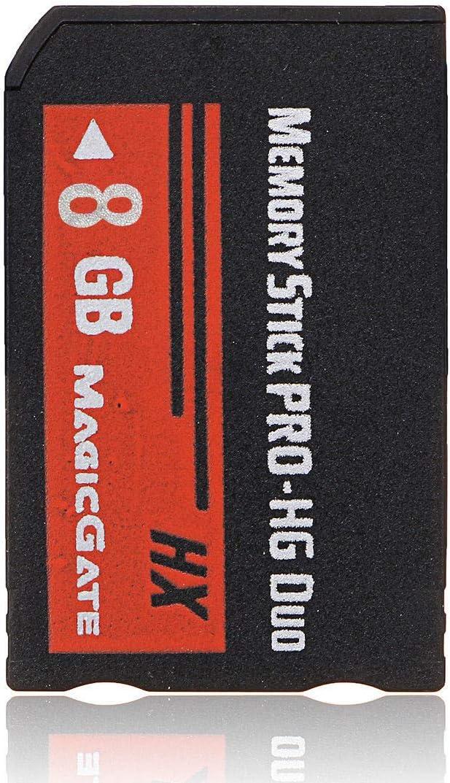 ADDFOO 8GB Memory Stick MS Pro Duo HX Flash Card For Cybershot Camera