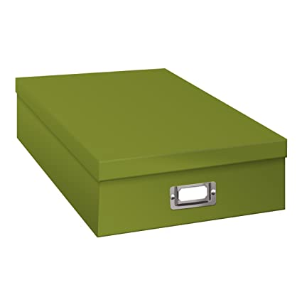 Charmant Pioneer Photo Albums Jumbo Scrapbook Storage Box, Spring Green