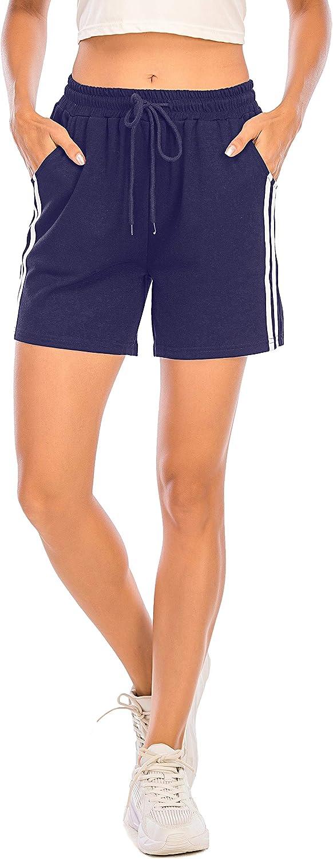 Pantalones Cortos Deportivos Para Mujer Entrenamiento Yoga Verano Para Hacer Ejercicio Trotar Gimnasio Pijamas Interior Casual Suelto Elastico Con Banda Mujer Ropa Activa