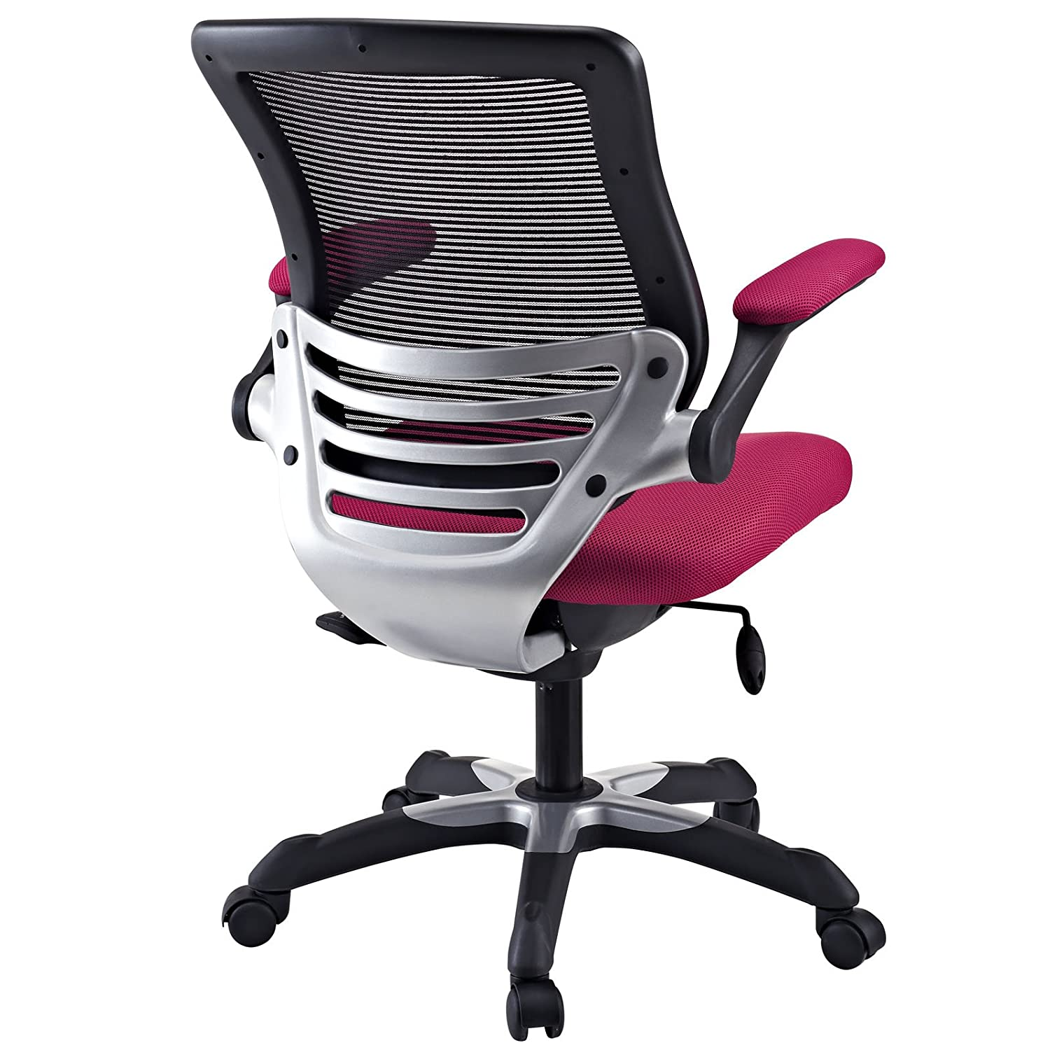 Amazon Modway Edge Mesh fice Chair in Red Kitchen & Dining