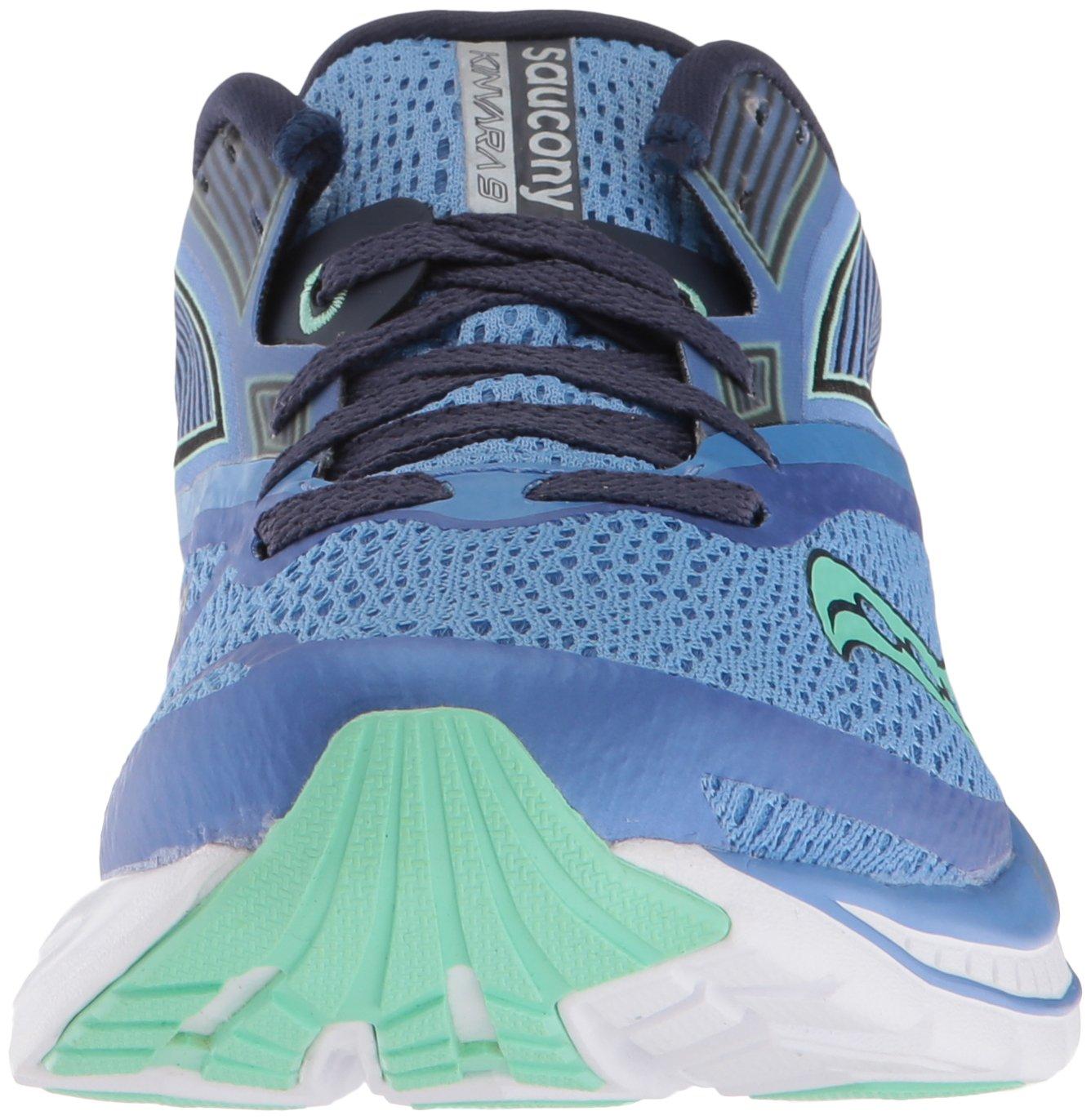 Saucony Women's Kinvara 9 Running Shoe, Blue/Teal, 9.5 Medium US by Saucony (Image #4)