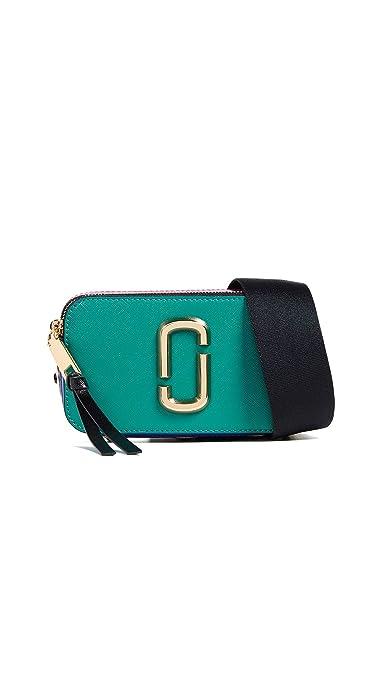 ebaca5c06e Marc Jacobs Women's Snapshot Buttons Crossbody Bag, Arugula Multi, One Size