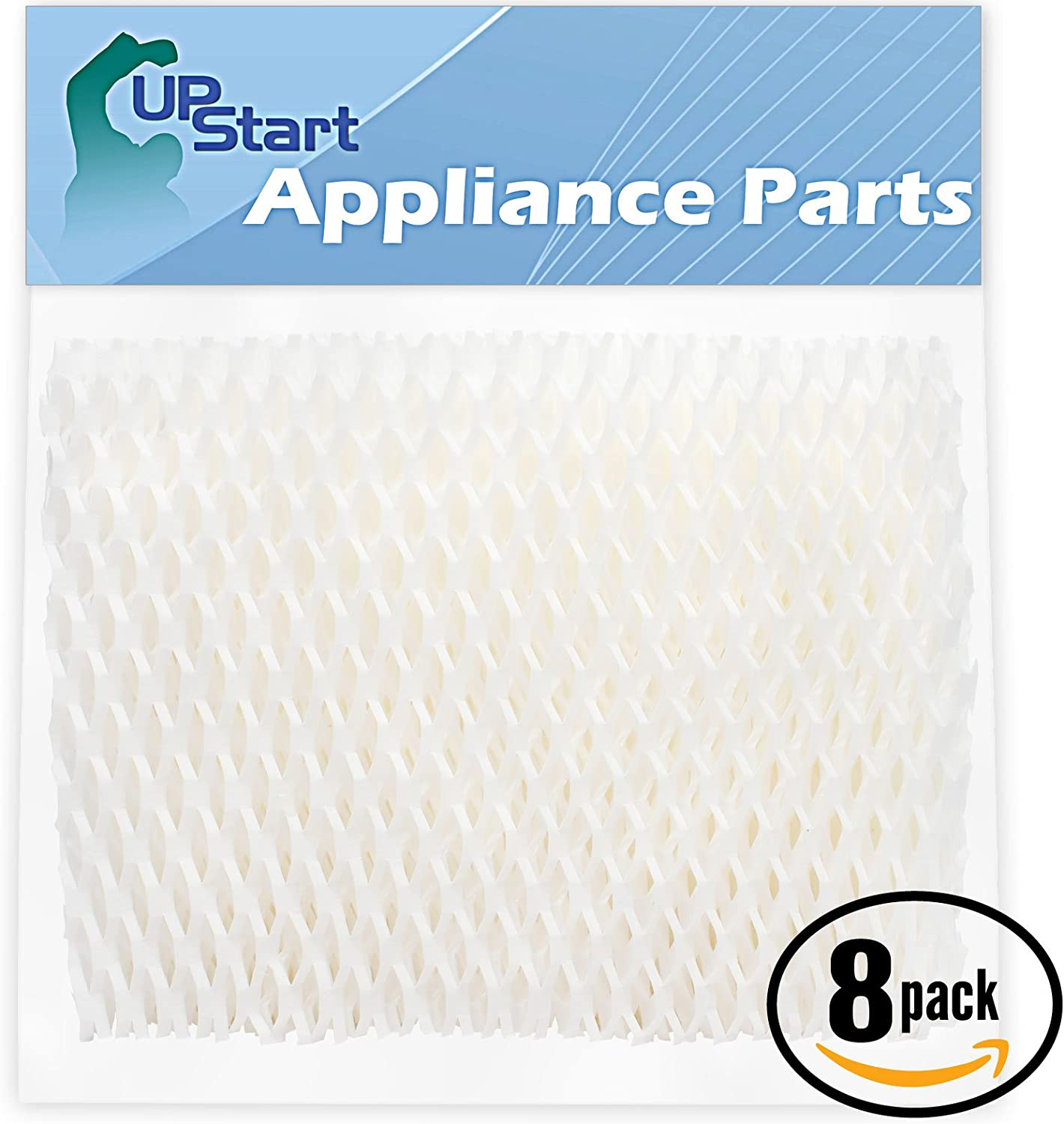 Upstart Battery 8-Pack Replacement 2H00 Humidifier Filter for 1.5 Gallon Graco TrueAir - Compatible with Graco Cool Mist Humidifier, Graco 2H00, Graco 2H01, TrueAir 05510, Graco 2H001