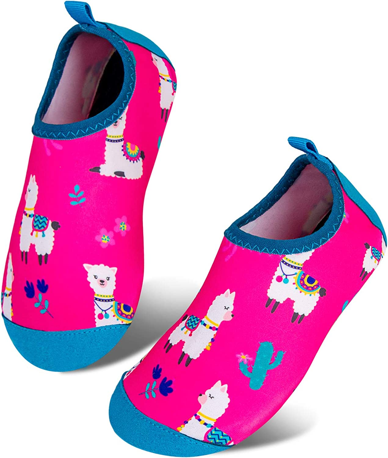 Calcetines de Piscina de Secado r/ápido Antideslizantes para ni/ños y ni/ñas Surf Yoga jard/ín ni/ños Descalzos Zapatos de Playa o Zapatos para Deportes acu/áticos