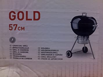 Weber Elektrogrill Wetterfest : Weber 751053 one touch gold grill 57cm schwarz: amazon.de: garten