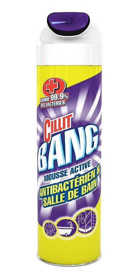 Cillit Bang Mousse Active Antibacterien 600 Ml Lot De 3 Amazon Fr