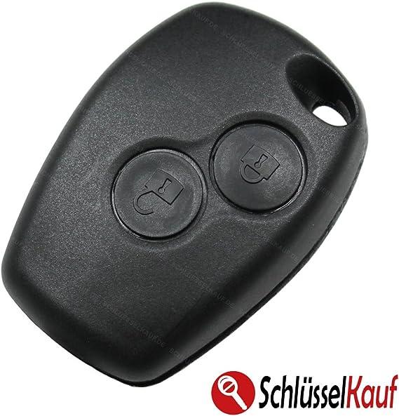 Autoschlüssel 2 Tasten Funk Schlüssel Gehäuse Fernbedienung Ersatz Neu