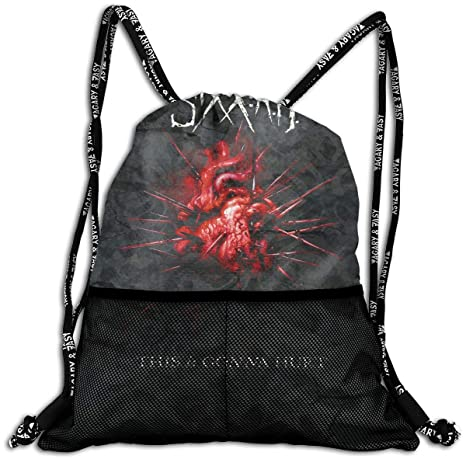 68bd0f2c0bba TERESAWATKINS Sixx A.M. This is Man s Women Sport Gym Sack Drawstring  Backpack Bag