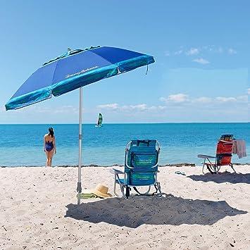 Beach Umbrella And Chair In Tommy Bahama Beach Chair 7u0027 Umbrella Blue 2018 Amazoncom